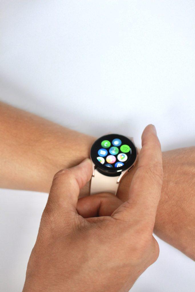 Galaxy Watch 4 menu