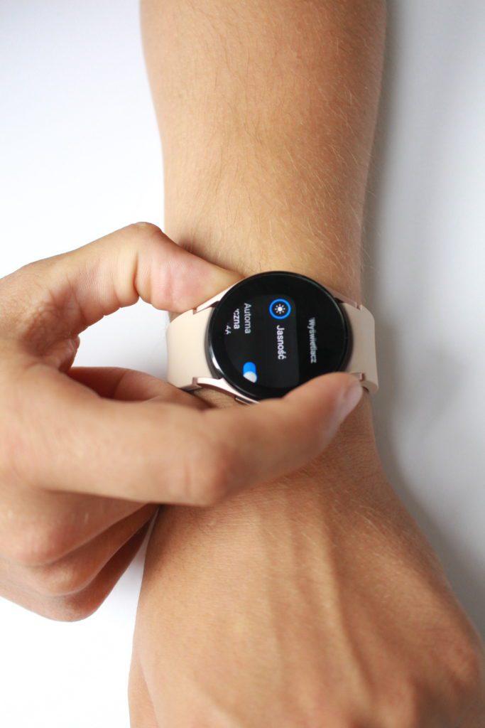Galaxy Watch 4 ustawienia