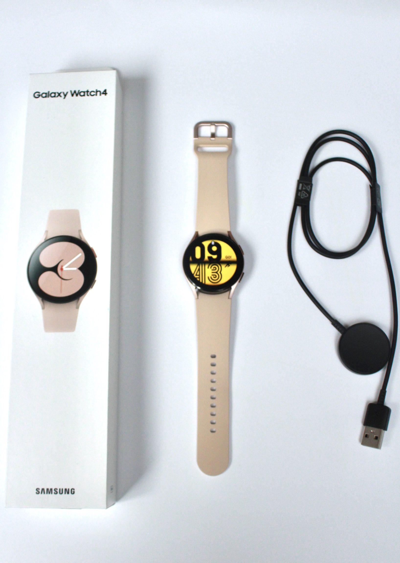 Galaxy Watch 4 pudełko i zestaw