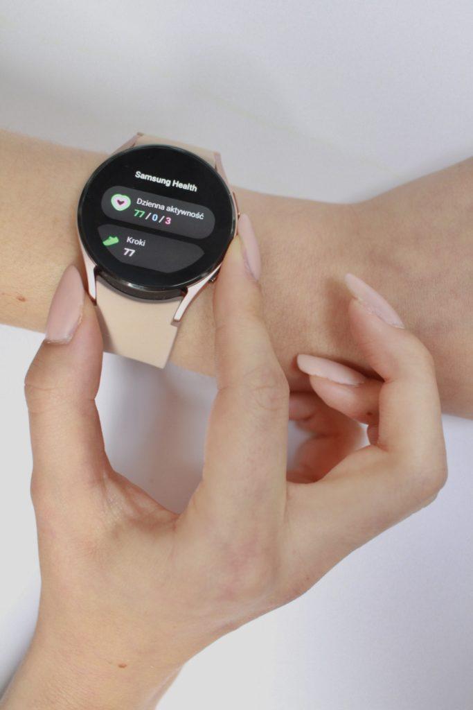 Galaxy Watch 4 wygląd tarczy