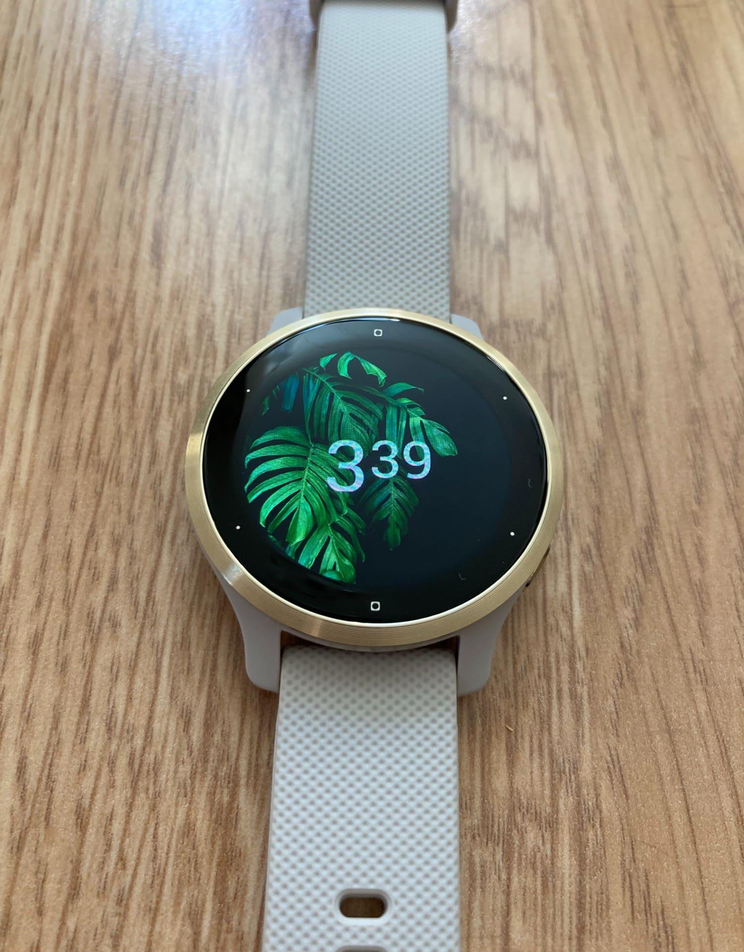 smartwatch garmin venu 2s tarcza