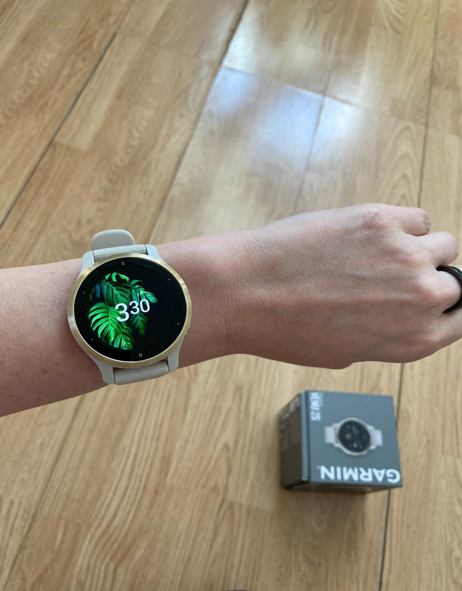 smartwatch garmin venu 2s wyswietlacz