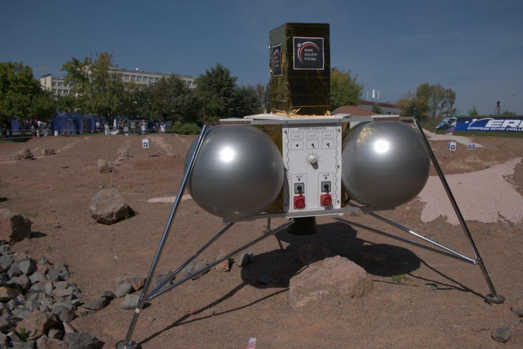 Sonda na marsie ERC 2021