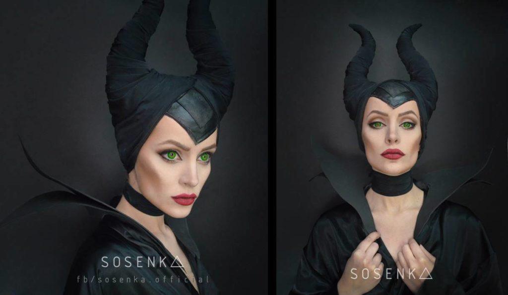cosplay sosenki jako maleficent z czarownicy disneya