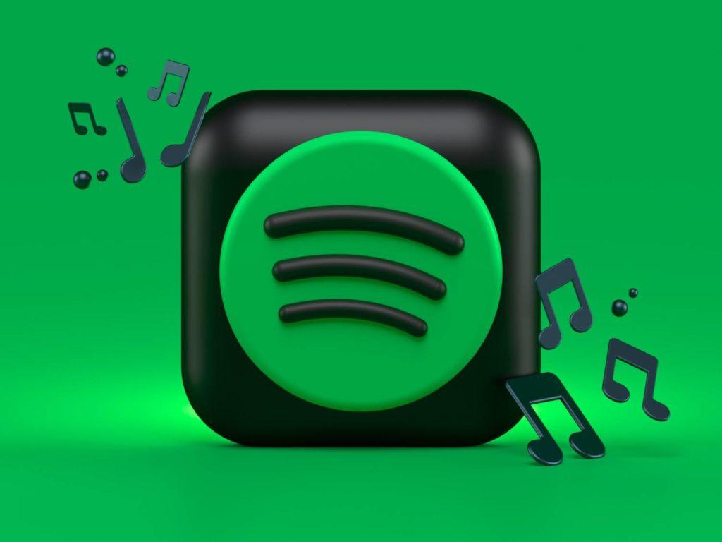 spotify logo z nutkami