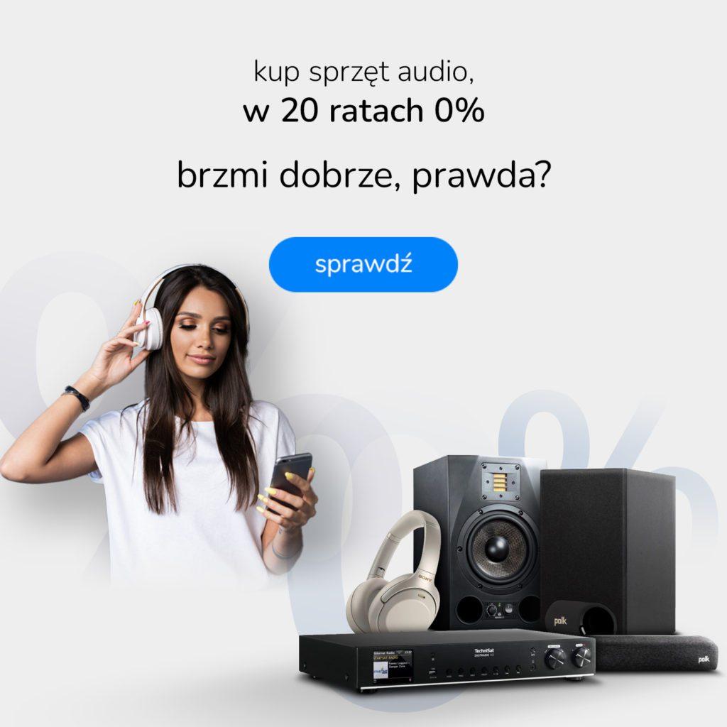 Sprzęt audio na raty
