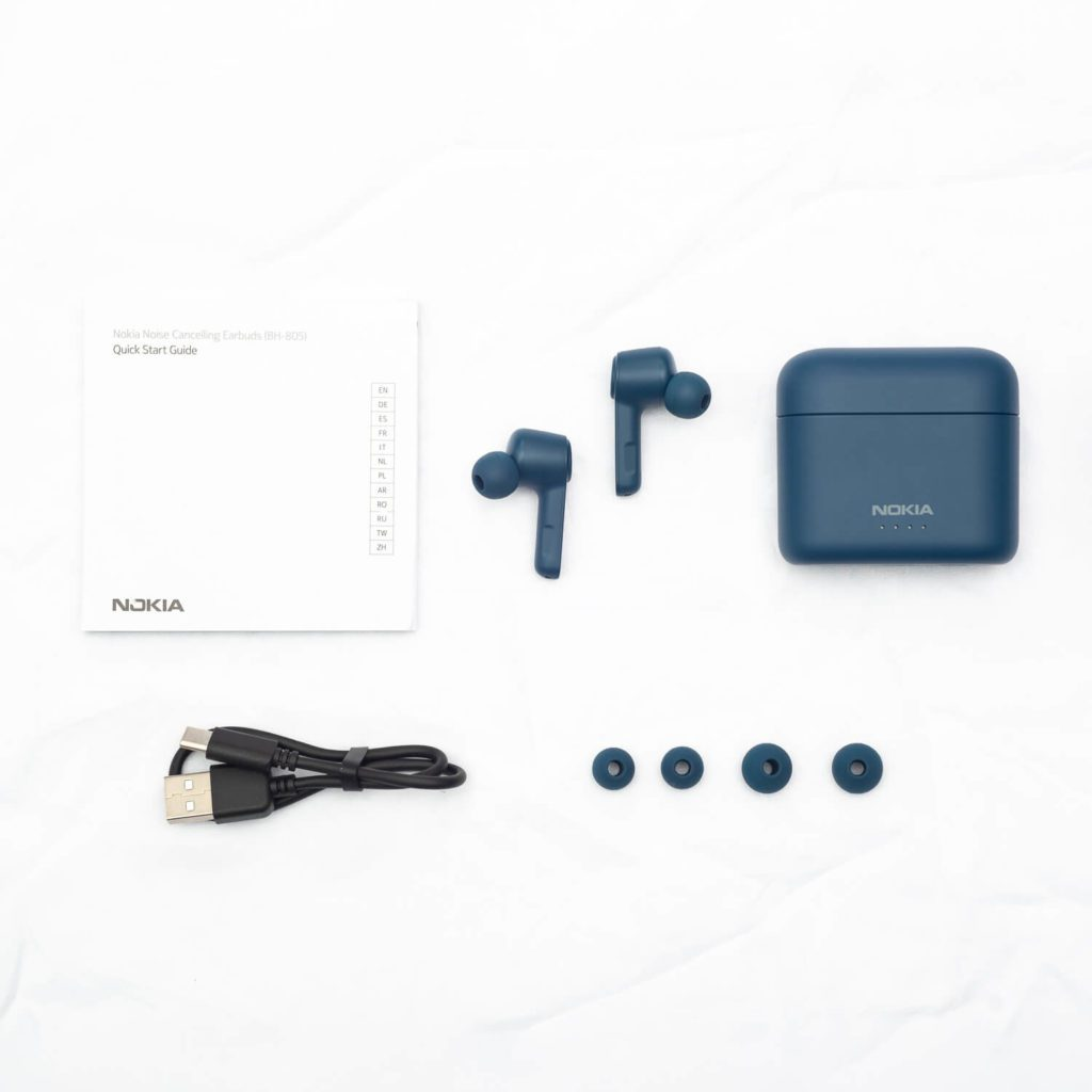 Unboxing Nokia Noise Cancelling Earbuds BH-805