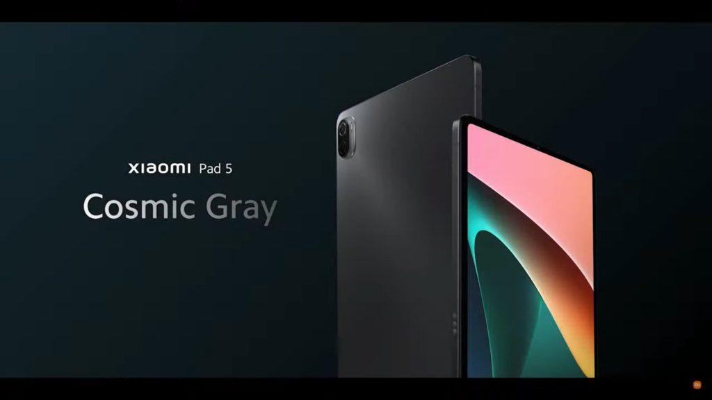 xiaomi pad 5 cosmic gray