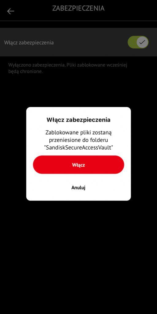 zabezpieczanie danych na ixpand sandisk