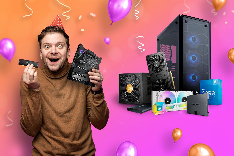 Świętuj z nami 19 urodziny x-komu i złap komponenty nawet 1300 zł taniej