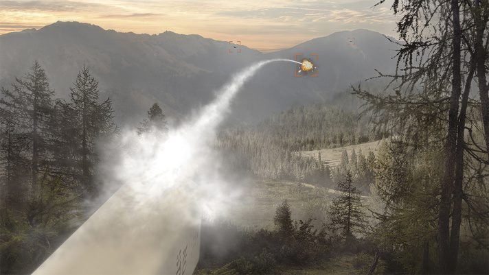 APKWS drony wizualizacja