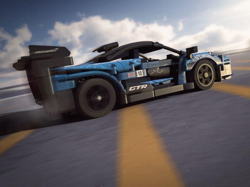 """Gratka dla fanów LEGO i gier wyścigowych. """"Klockowy"""" McLaren Senna GTR dodany do Asphalt 9: Legends"""