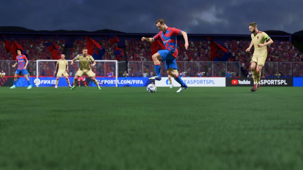 FIFA 22 XSX zbliżenie tryb fotograficzny