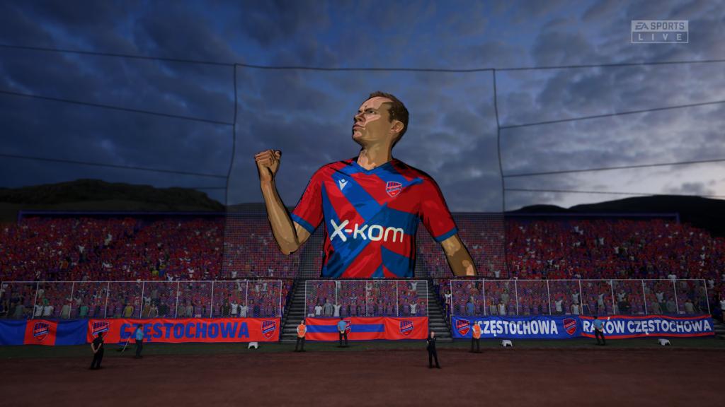 FIFA 22 XSX tifo raków