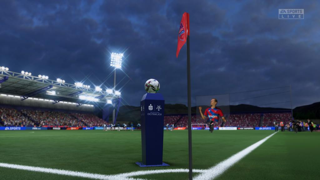 FIFA 22 XSX wyjście z tunelu