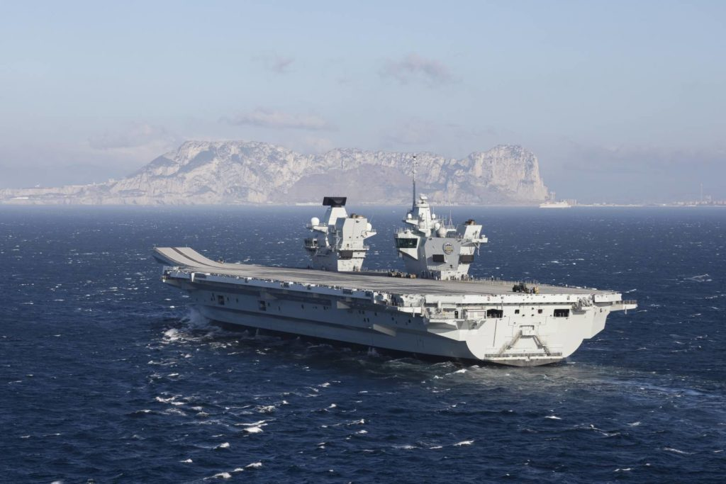 HMS Prince of Wales lotniskowiec gibraltar