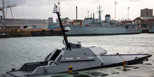 MADFOX, czyli brytyjski dron morski odpala pocisk