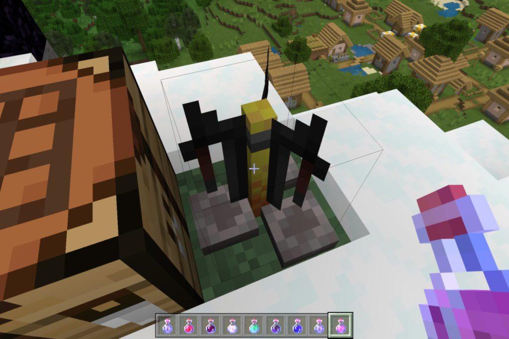 Minecraft statyw alchemiczny
