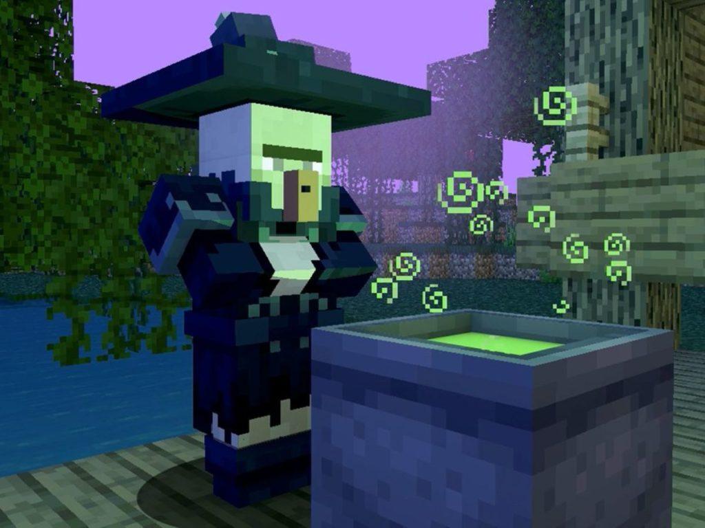 Minecraft Wiedźma
