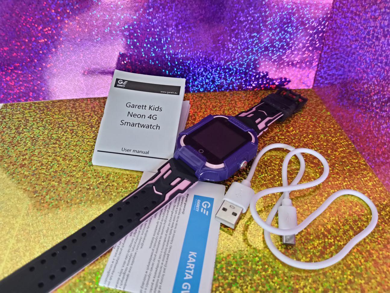 Garett Kids Neon 4G zawartość pudełka
