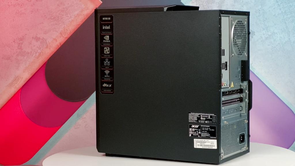 Acer Nitro 50 (2021) lewy bok