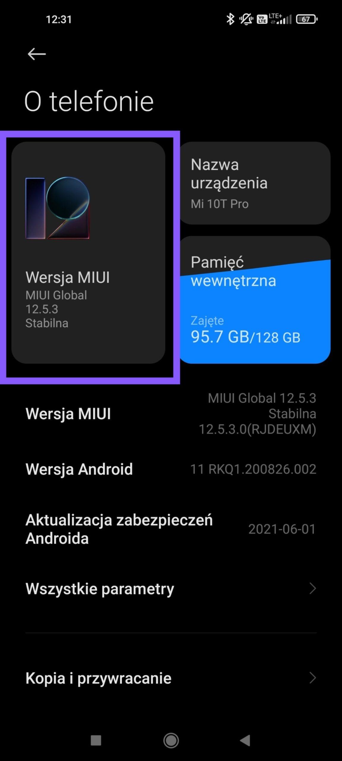 aktualizacja androida i miui w xiaomi