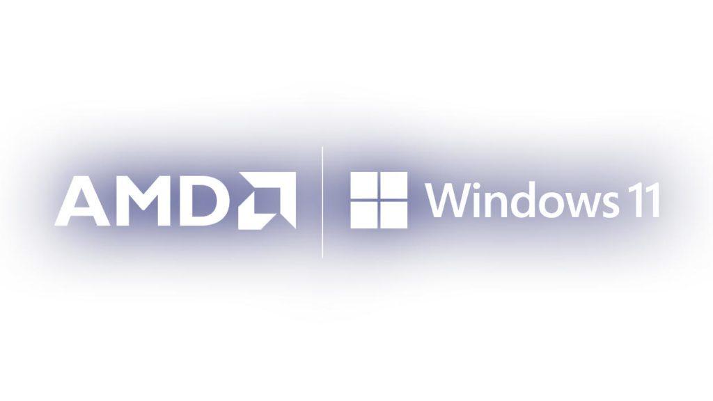 logo amd i windows 11