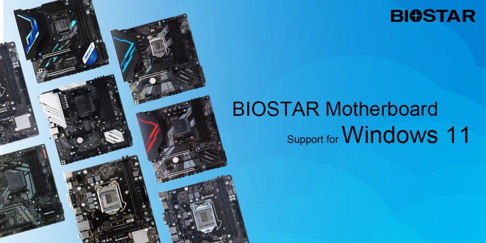 płyty główne biostar kompatybilne z windows 11