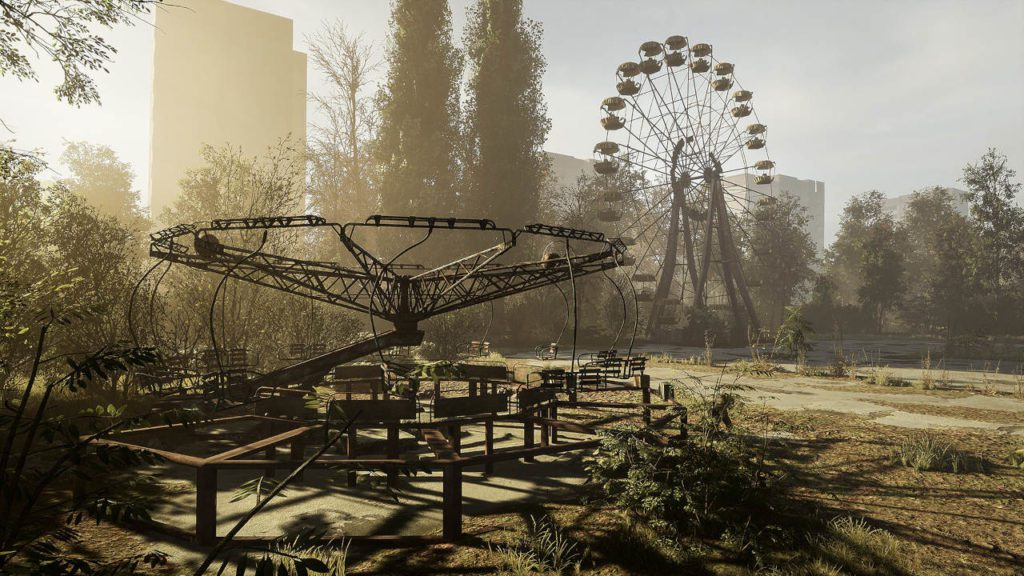 prypeć w chernobylite