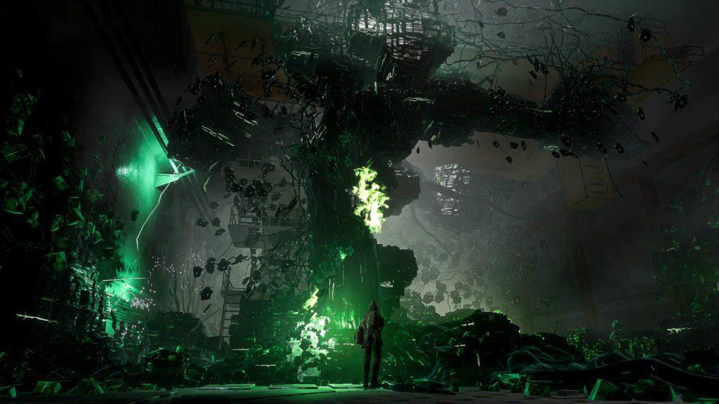 screen przedstawiający lokację gry chernobylite
