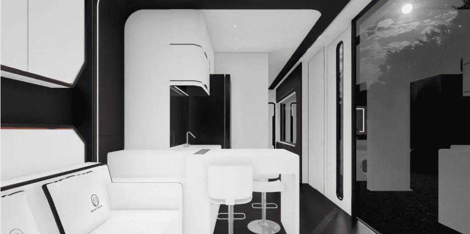 Cube Two X wnętrze