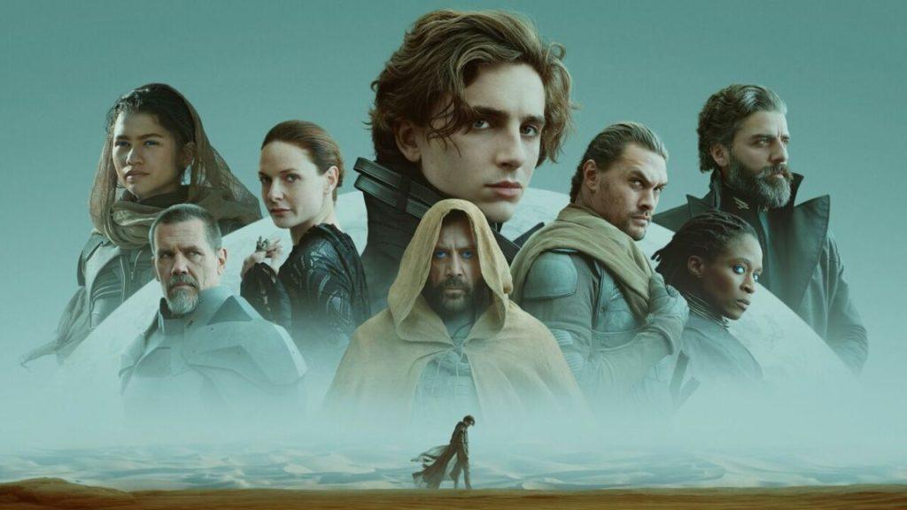 plakat filmu diuna 2021