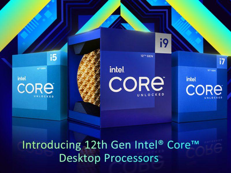 Intel Alder Lake-S – premiera, specyfikacja i wydajność procesorów 12. generacji