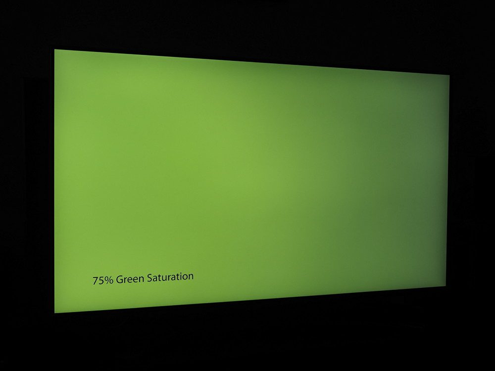 plansza jasnej zieleni, widziana pod kątem