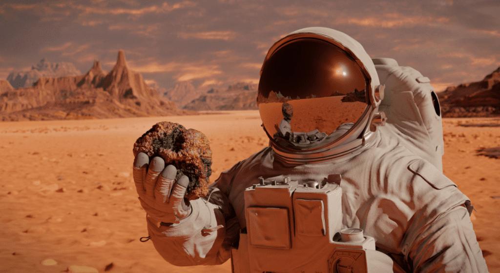 planeta mars kosmonauta misja