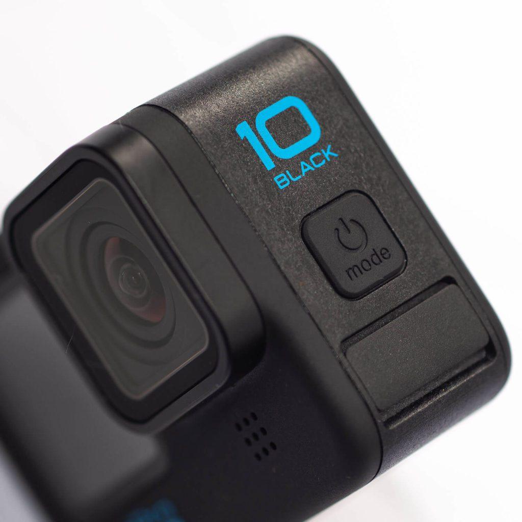 odprowadzanie wody z mikrofonu Hero 10 Black