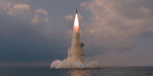Korea Północna wystrzeliła pocisk balistyczny z okrętu podwodnego