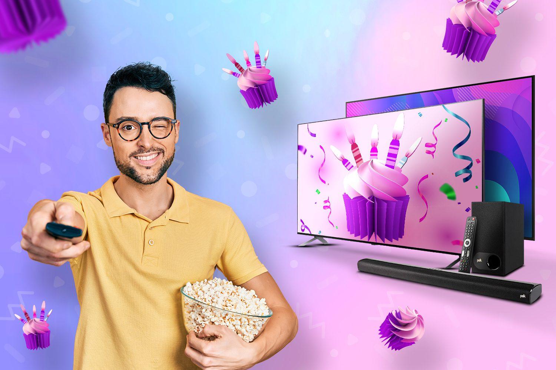 Świętuj z nami 19. urodziny x-komu. Telewizory zgarniesz z rabatem do 500 zł