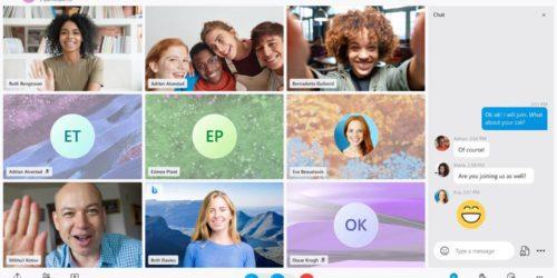 Skype z przeprojektowanym wyglądem, nowymi motywami i funkcjami