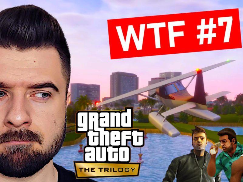 WTF #7 – GTA Trilogy Remastered nie spełni oczekiwań?