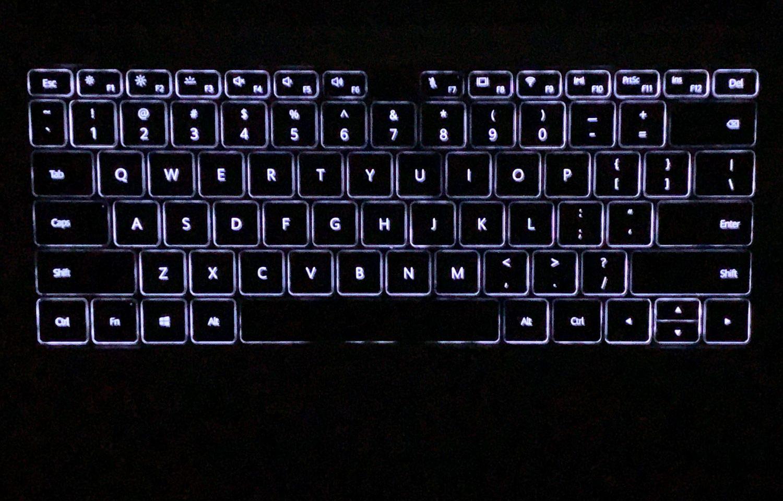 podświetlenie klawiatury matebook